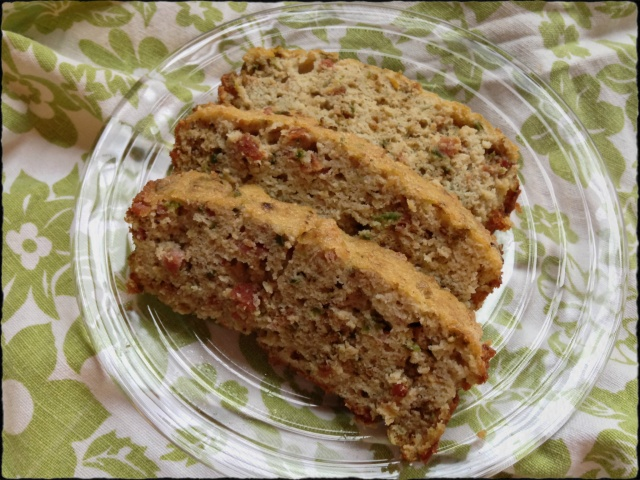 Paleo Bacon Jalapeno Bread