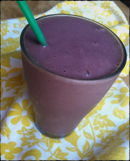 PB&J Protein Packed Smoothie